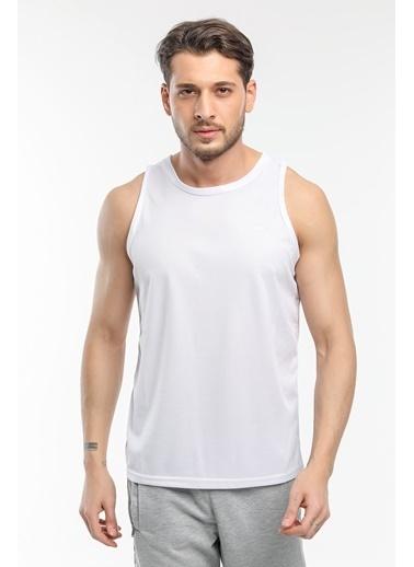 Slazenger Slazenger RUN I Erkek T-Shirt  Beyaz